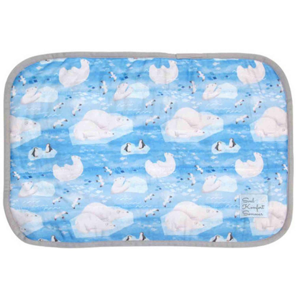 日本 DAIKAI - 接觸涼感枕頭套-熊熊