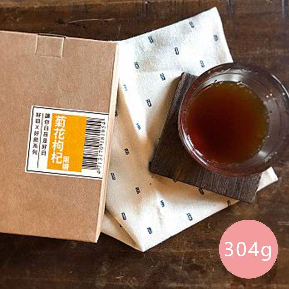 好日好食 - 好飲系列 手工菊花枸杞黑糖-單盒-304g