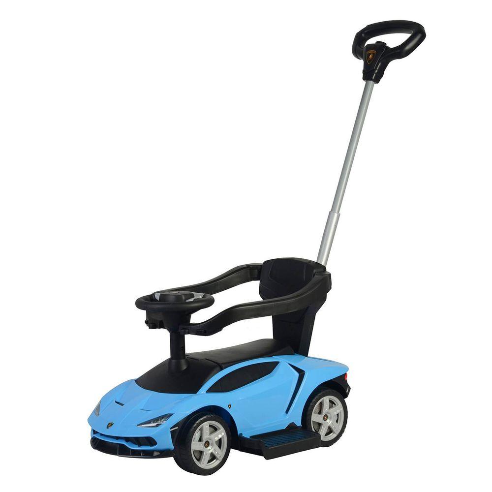 Ching Ching - 藍寶堅尼 多功能學步車-藍色