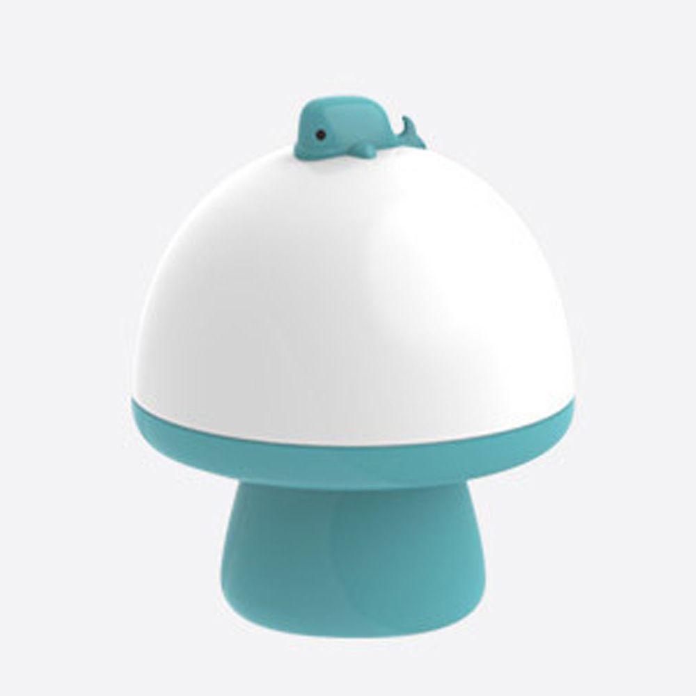韓國 - 音樂投影奇幻小夜燈-海豚-藍綠 (15.3X12.5cm)