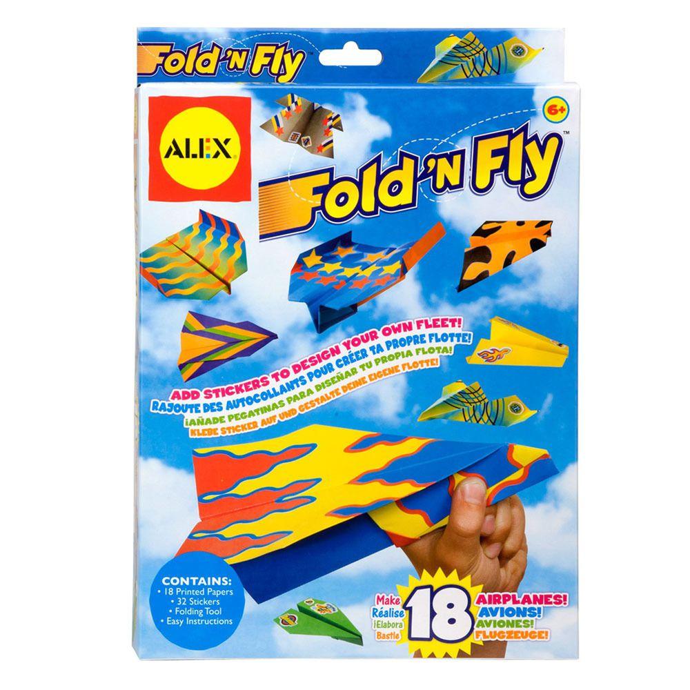 美國 ALEX - 紙飛機戰鬥隊