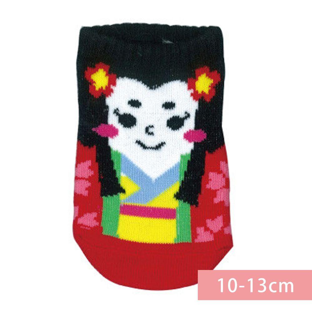 日本 OKUTANI - 童趣日文插畫短襪-公主 (10-13cm(1-3y))