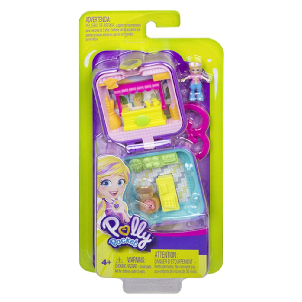 Polly Pocket 口袋波莉 - 口袋波莉迷你百寶盒系列-(共三款造型,隨機出貨不挑款)