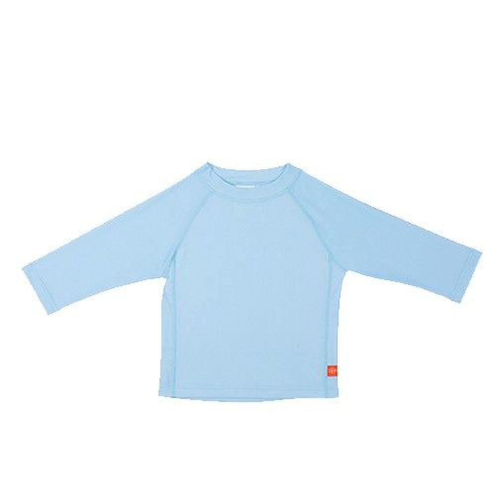 德國 Lassig - 嬰幼兒抗UV長袖泳裝上衣-淡藍