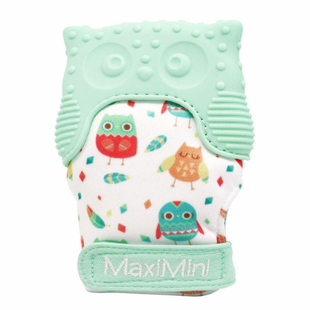 美國 MaxiMini - 手咬樂手套固齒器-馬卡龍綠
