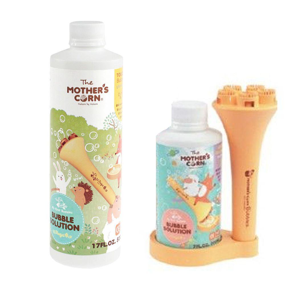 韓國 Mother's Corn - 兒童專用超多泡泡組+兒童專用不易破泡泡補充罐(500ml)-團購專案