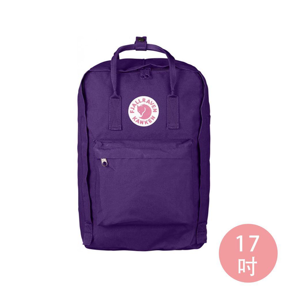 FJALLRAVEN - Kanken 17吋 電腦雙肩背包-深紫 (30x18x42cm)