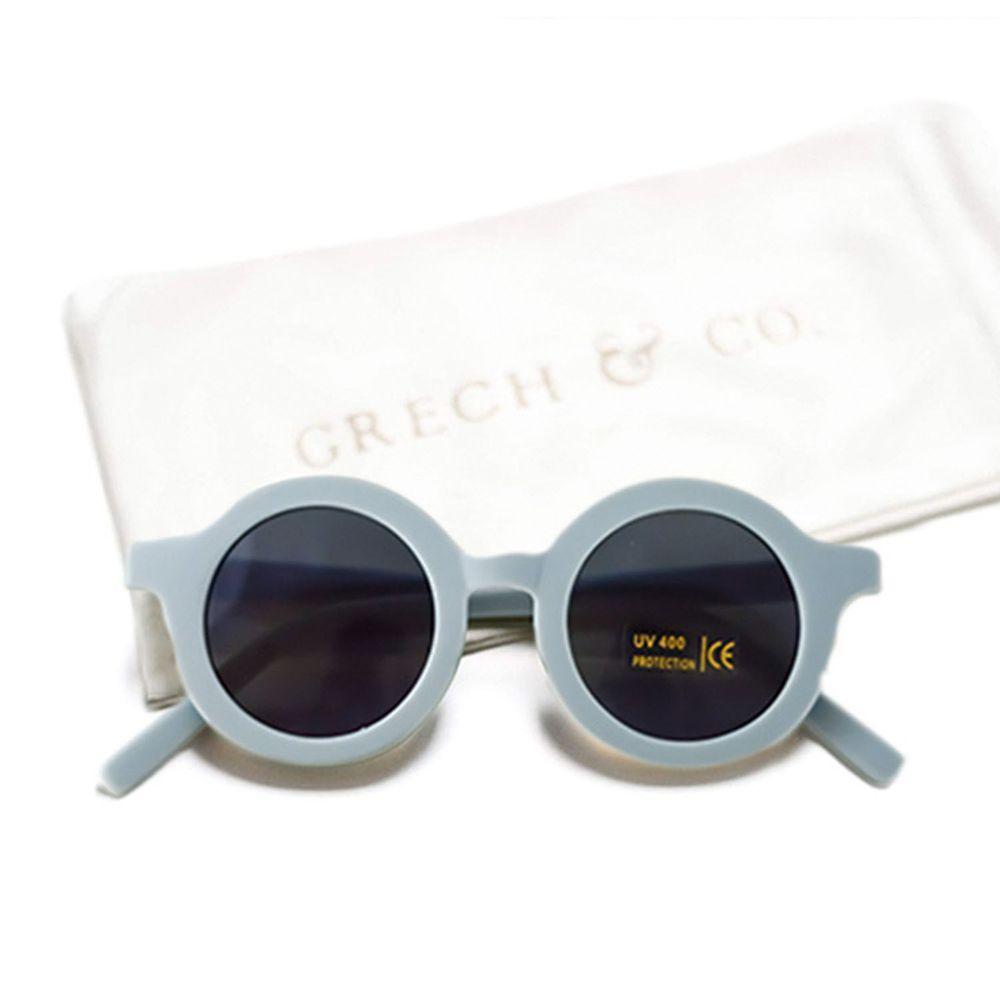 丹麥GRECH&CO - 兒童太陽眼鏡-經典款-天空藍-18個月至6歲