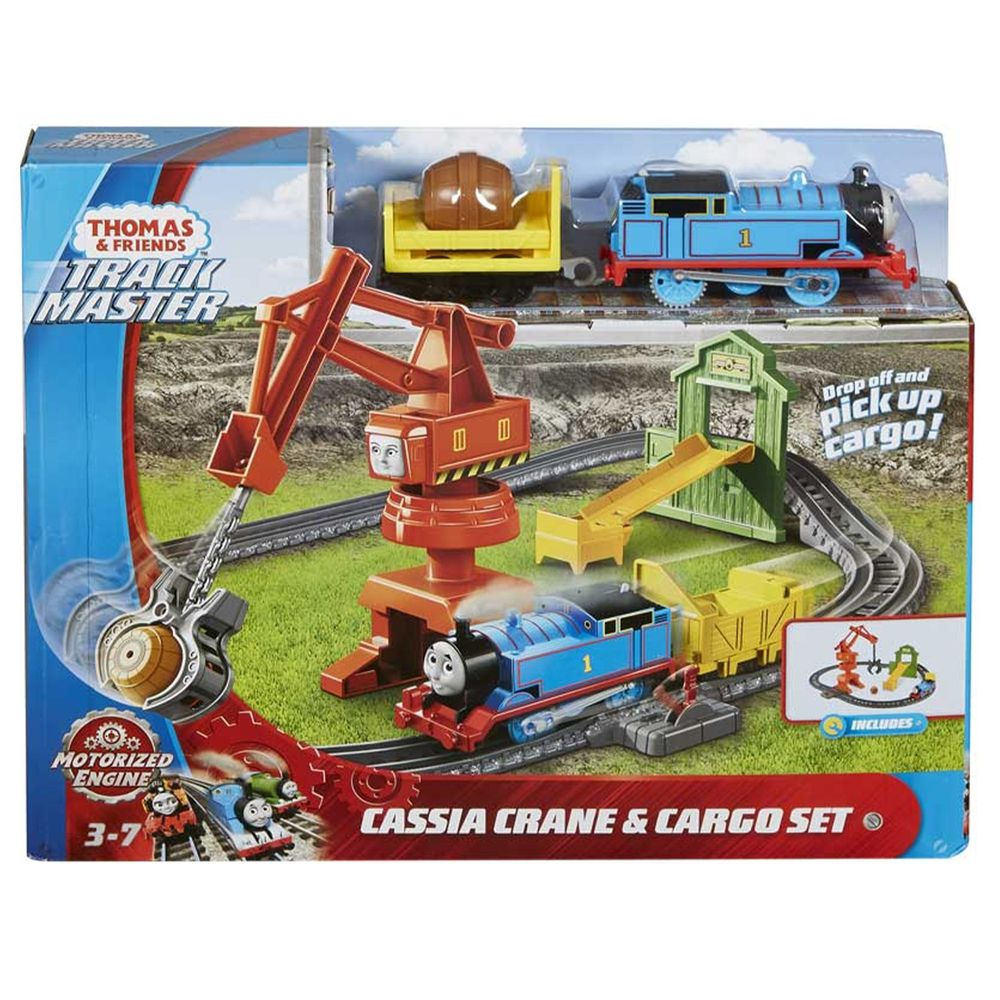Thomas&Friends 湯瑪士小火車 - 湯瑪士電動-工程軌道組