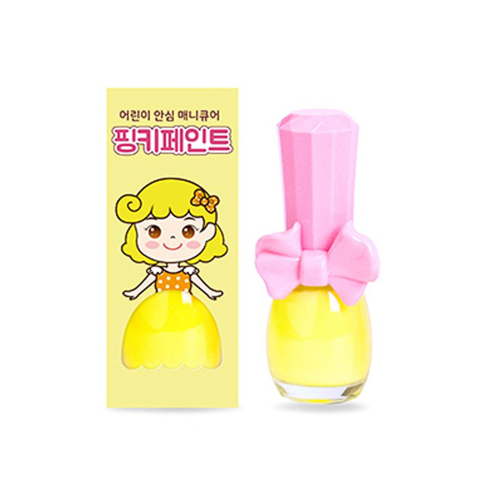 韓國 Pink Princess - 可撕式無毒指甲油-萊姆冰淇淋(糖果色系)