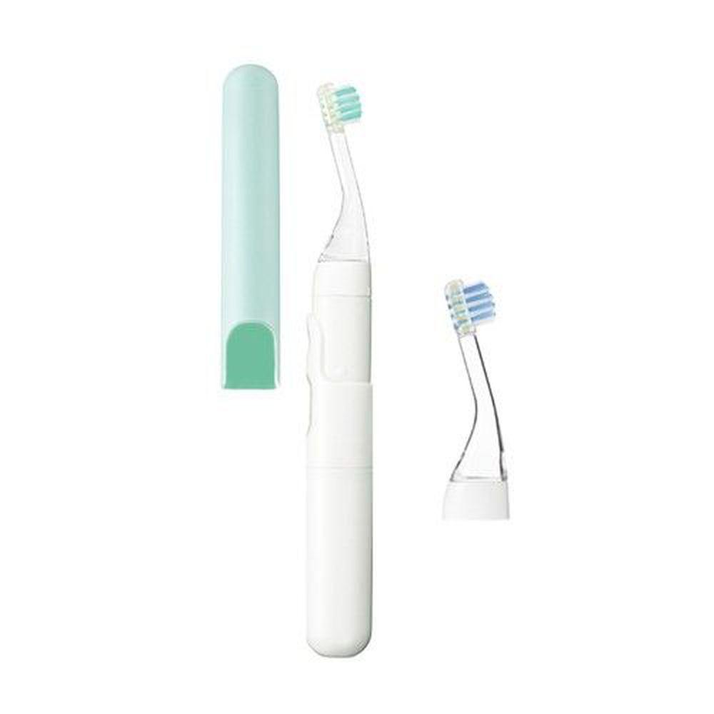 日本 Combi - teteo 幼童電動牙刷-薄荷綠-6個月起-內含替換刷頭x1