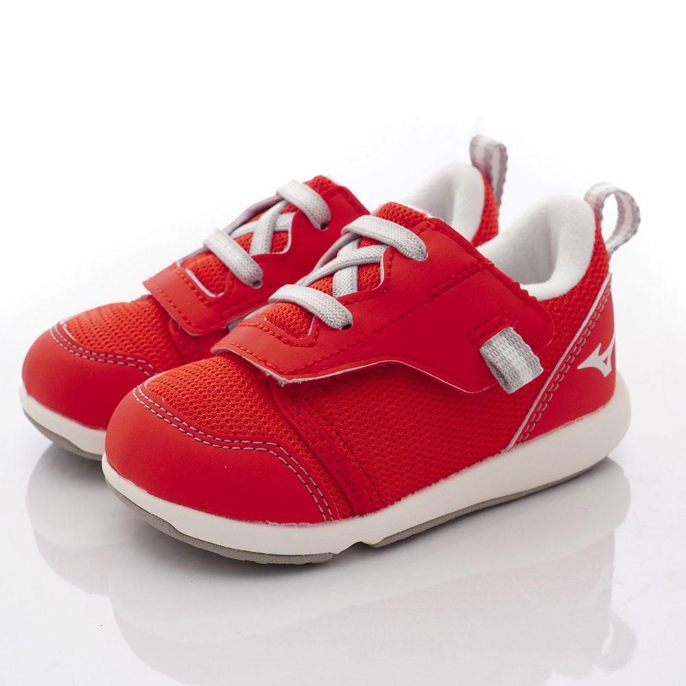 MIZUNO 美津濃 - 超輕量大絆帶機能鞋款(寶寶段)-紅