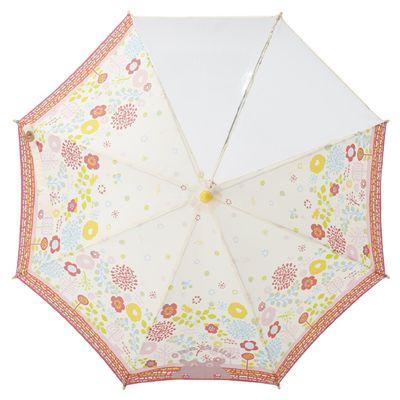 小童雙片透明直傘-最愛庭院