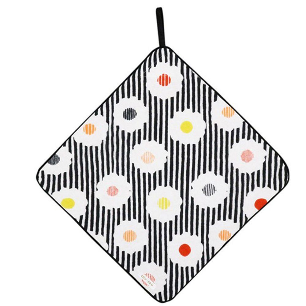 日本代購 - 【SOU·SOU】日本製今治純棉擦手巾-白菊 (32x32cm)