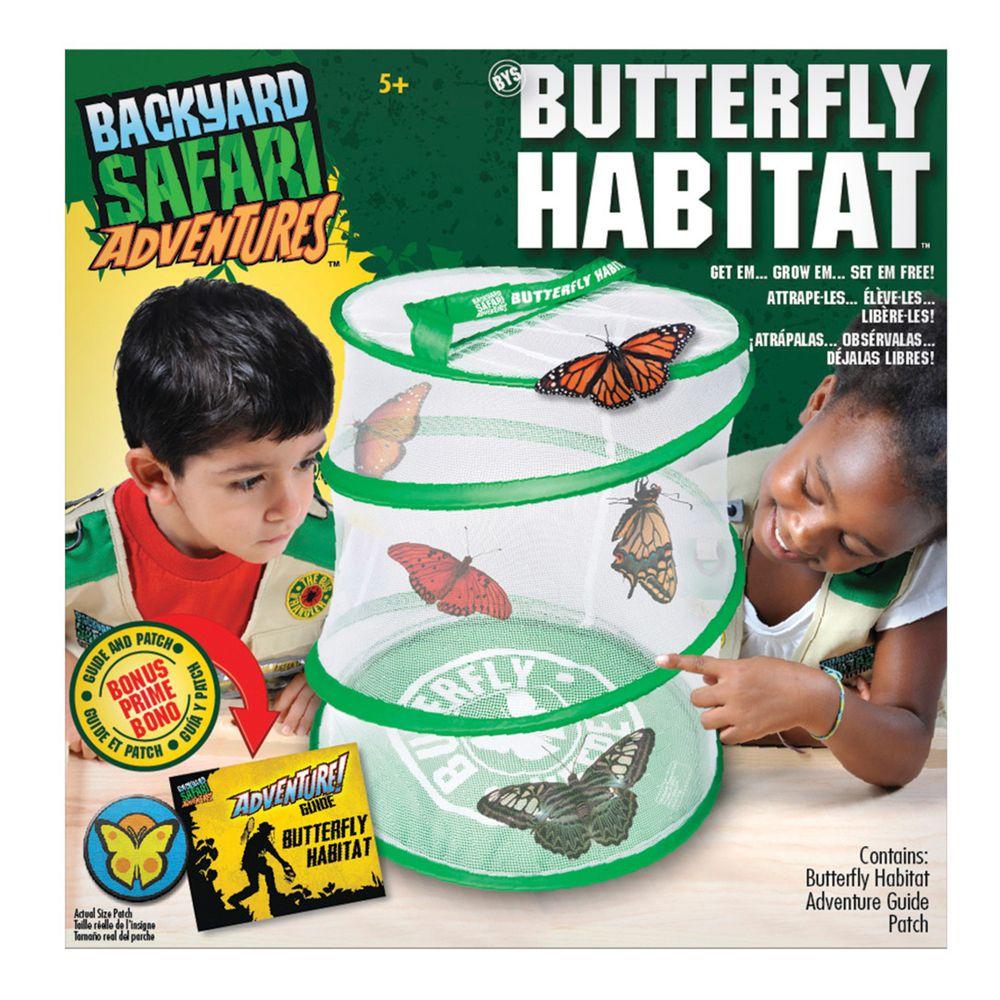 美國 Backyard Safari - 小小探險家-蝴蝶觀察行動網室