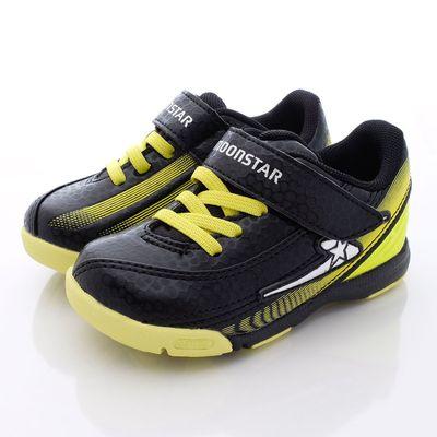 競速機能童鞋-閃耀光速足球系利(中童)-黑黃