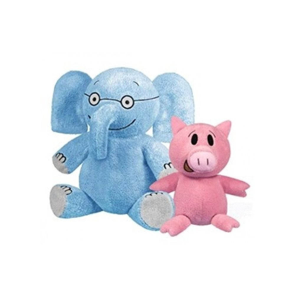 Elephant and Piggie 玩偶一組
