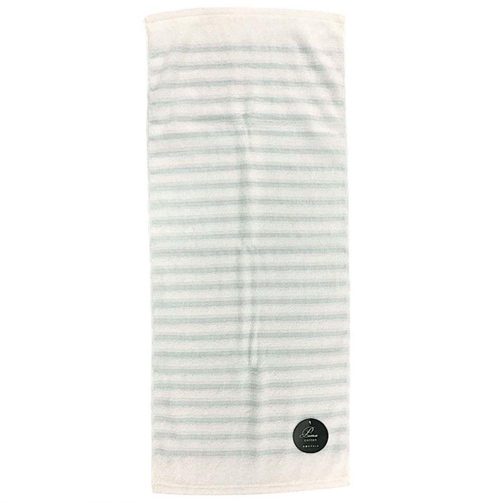 akachan honpo - 泉州毛巾 上等波紋-藍色 (34×80cm)