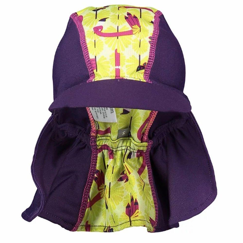 英國Pop-in - 嬰兒抗UV防曬遮頸帽-拉拉鶴