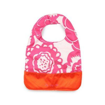 Be Neat 嬰兒圍兜-Classic 經典花布系列-Fuchsia Blossoms 魅彩繽紛