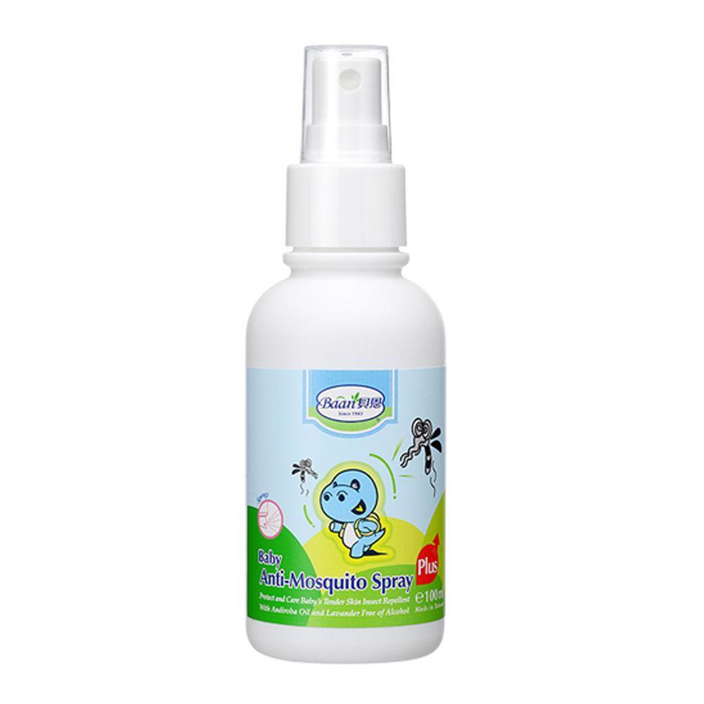 貝恩 Baan - 嬰兒小黑蚊防蚊噴液Plus-100ml