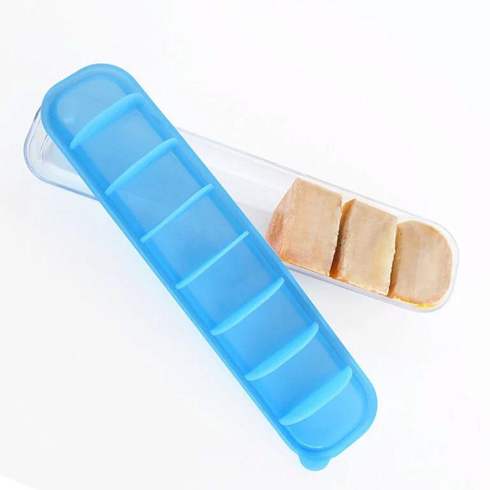 澳洲 Qubies - 副食品分裝盒-彈珠藍