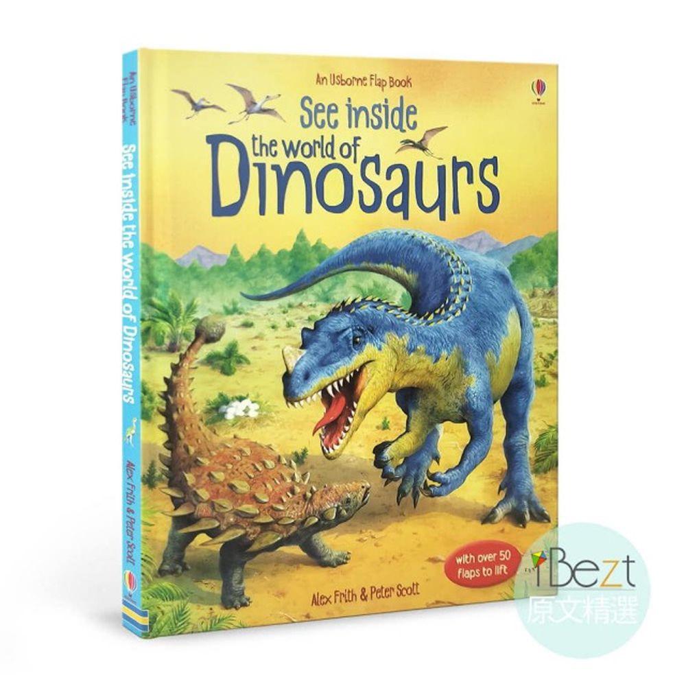 Usborne See Inside the World Of Dinosaurs