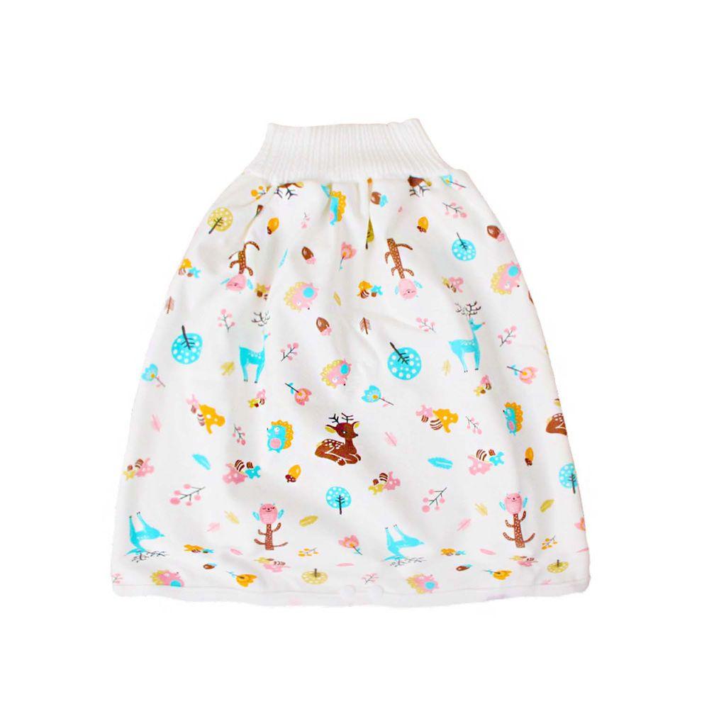 高腰護肚隔尿裙-小小花鹿
