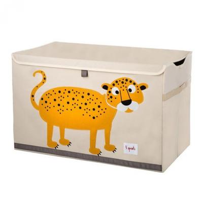 大型玩具收納箱-小花豹