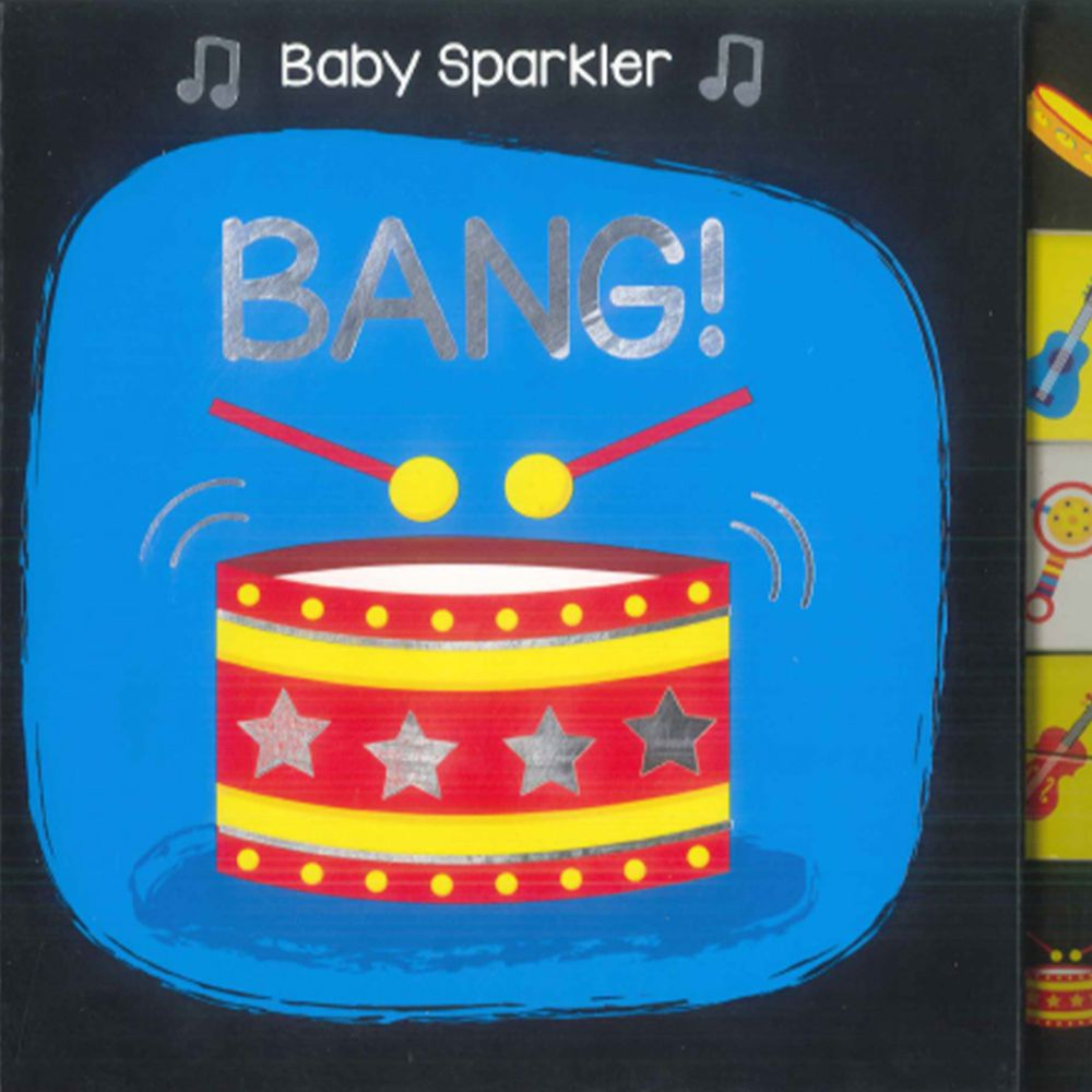 Baby Sparkler BANG 硬頁書