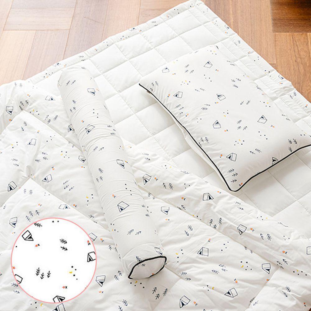 韓國 Formongde - (4件套)可水洗飯店棉被/睡墊/枕芯/枕套-森林小屋