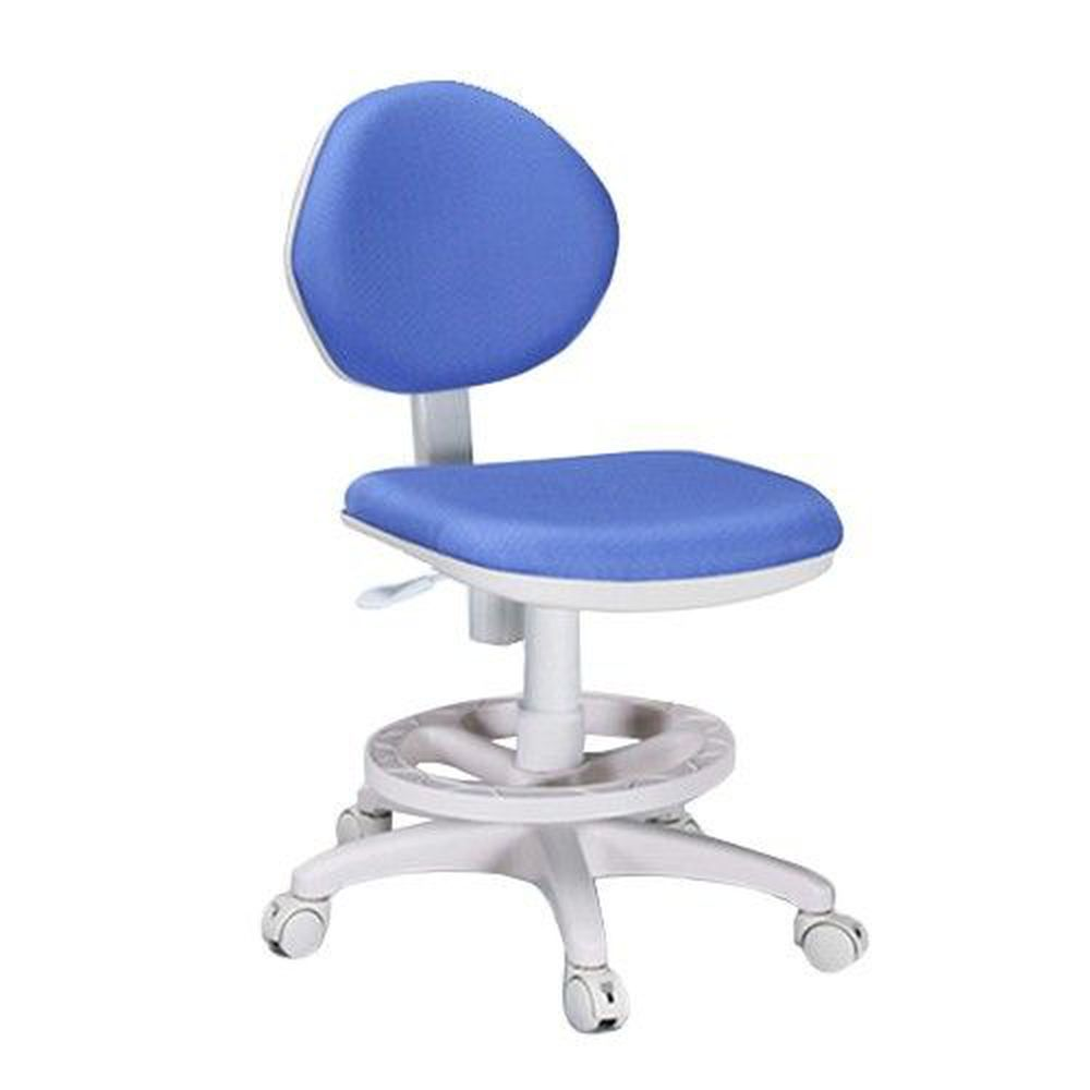 創意小天才 - 【素養家】安全可調式學童成長椅/兒童椅-煞車輪-活力藍