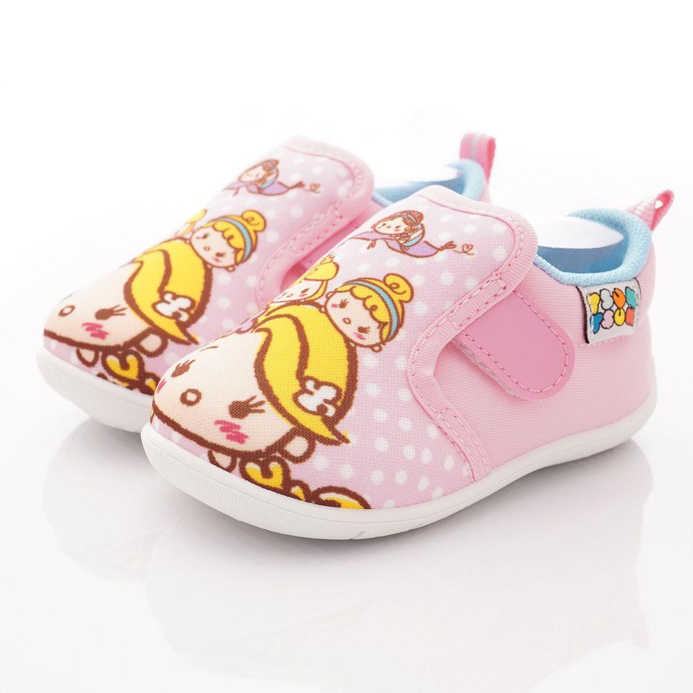 Disney - TSUMTSUM 大LOGO休閒鞋(中小童段)-粉