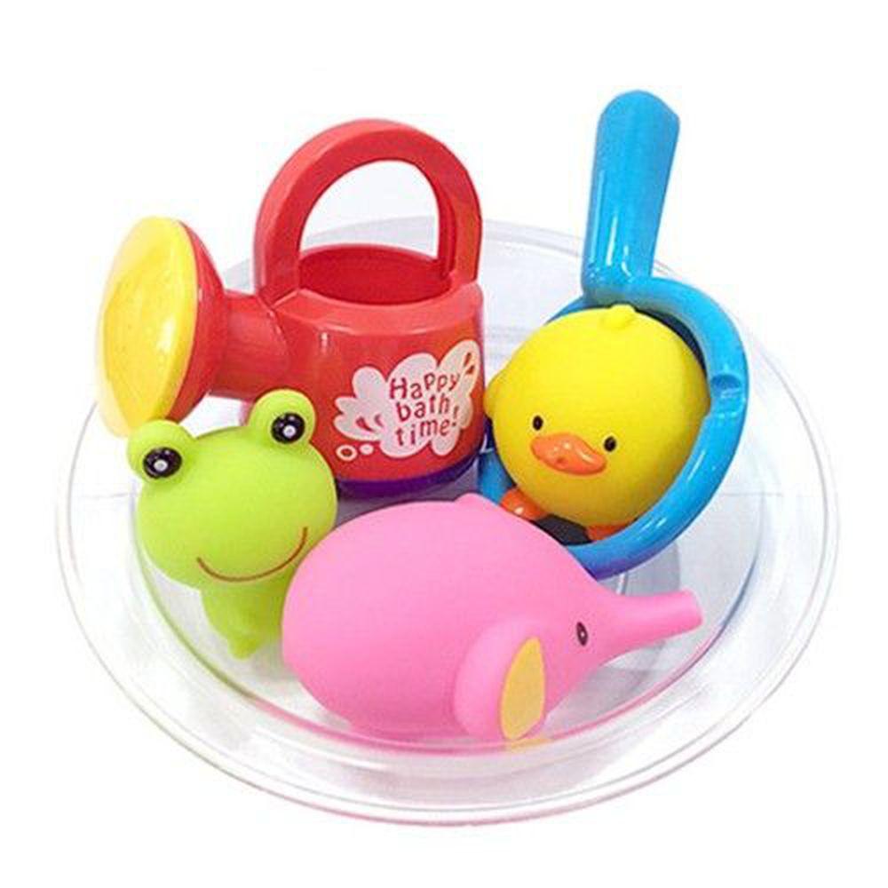 日本 Toyroyal 樂雅 - 洗澡玩具-澆水器洗澡組-1.5歲起