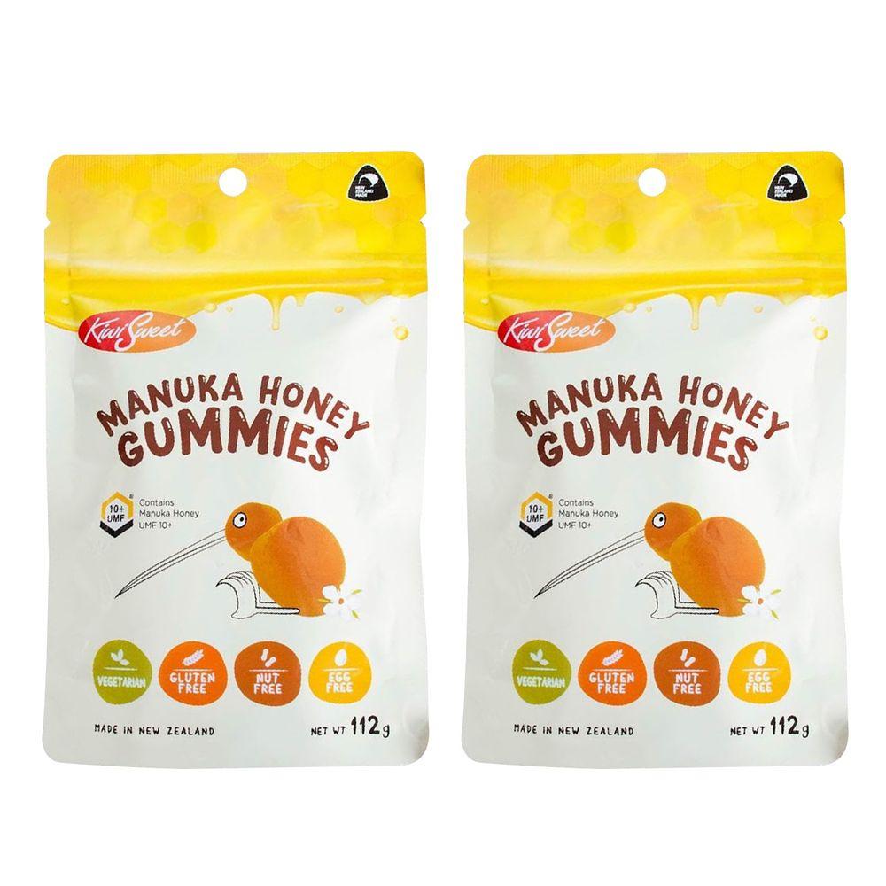 [紐西蘭] KiwiSweet® - 麥蘆卡蜂蜜軟糖-2件組