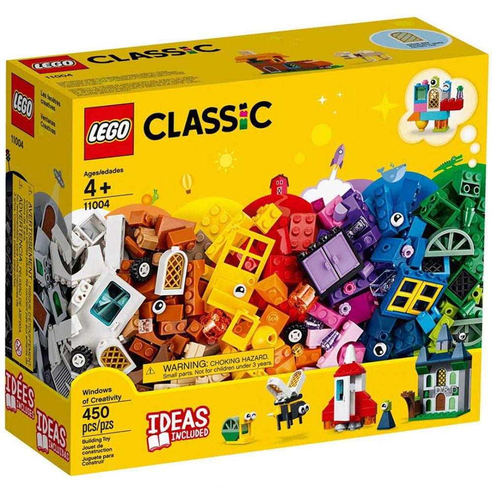 樂高 LEGO - 樂高 Classic 經典基本顆粒系列 - 窗戶拼砌套裝 11004-450pcs
