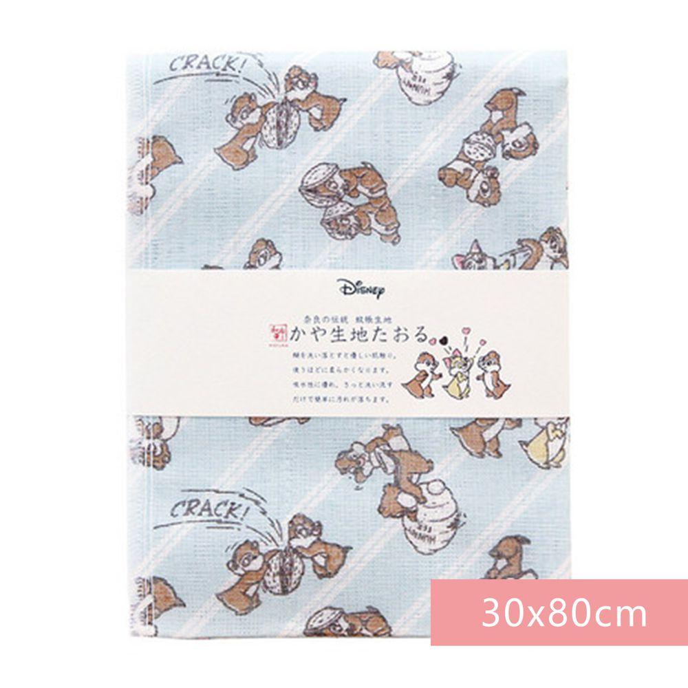 日本代購 - 【和布華】日本製奈良五重紗 長毛巾-奇奇蒂蒂 (30x80cm)