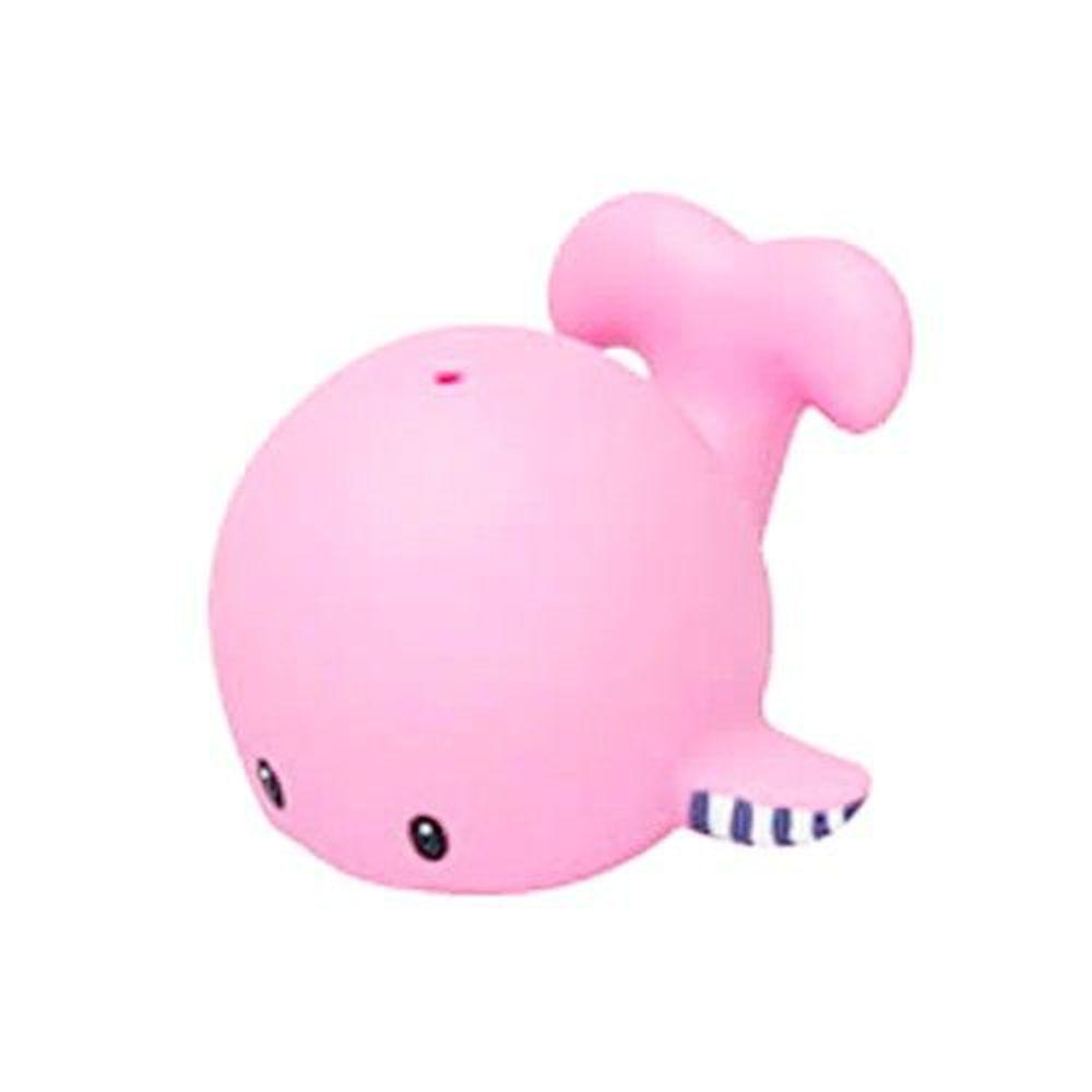 日本 Toyroyal 樂雅 - 洗澡玩具-軟膠鯨魚-1.5歲以上