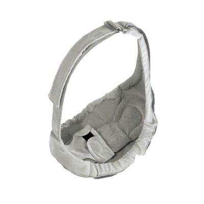 YoDa - 橫抱式嬰兒背帶-淡雅灰