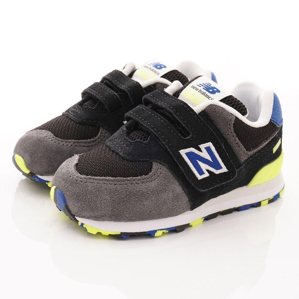 New Balance - New Balance慢跑鞋-574機能慢跑款(小童段)-黑