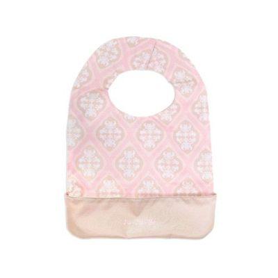 Be Neat 嬰兒圍兜-Classic 經典花布系列-Blush Frosting 粉色圖騰