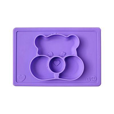 Care Bears聯名餐盤-分享熊-餐盤-紫 (30.5cm*20.5cm*2.54cm)-255ml