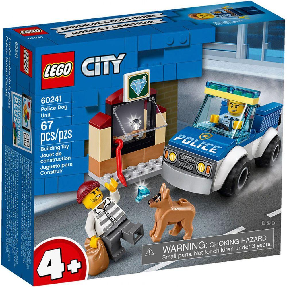 樂高 LEGO - 樂高 CITY 城市警察系列 -  警犬隊 60241-67pcs