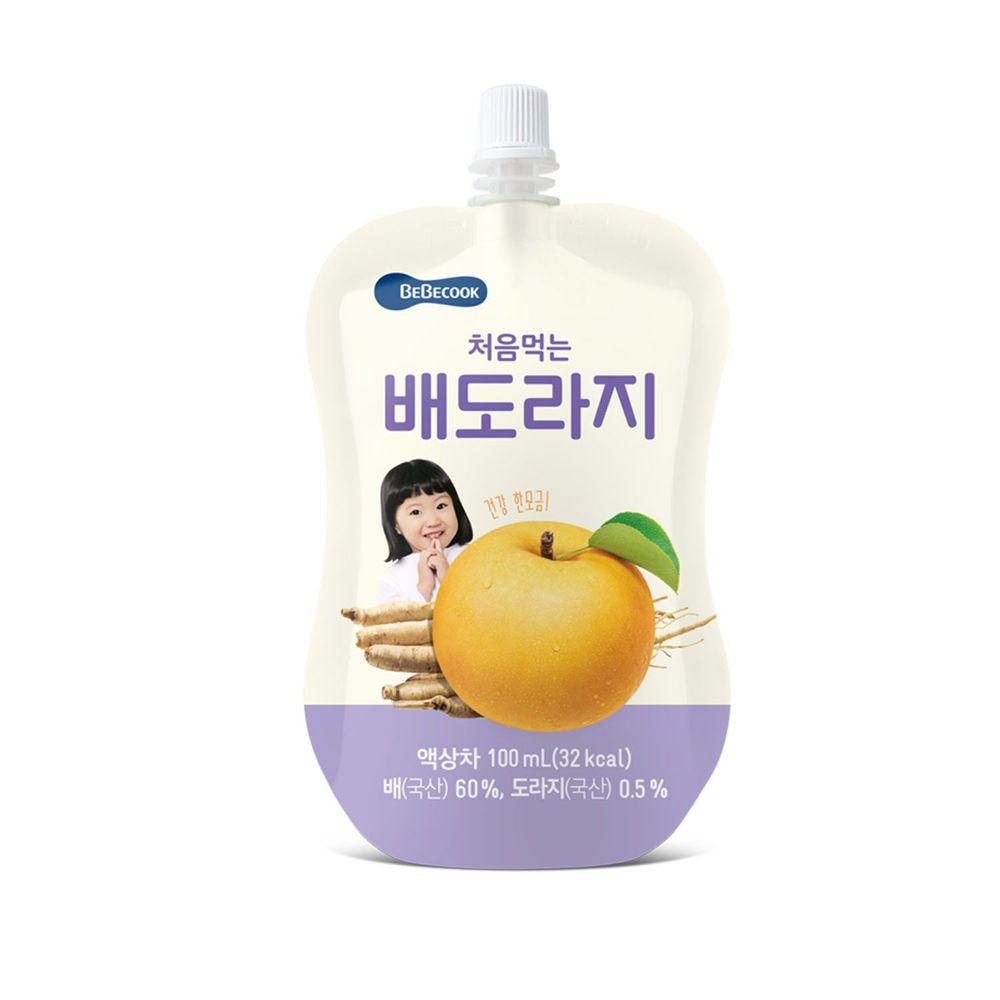 BEBECOOK 寶膳 - 智慧媽媽 嬰幼兒桔梗雪梨汁(12M以上)