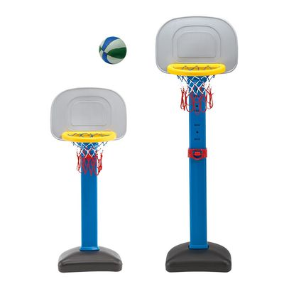 100%台灣製 標準型二段式 籃球架(附籃球)BS-03