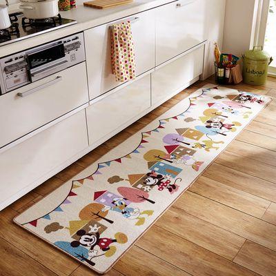迪士尼 長條型腳踏墊(廚房/臥室)
