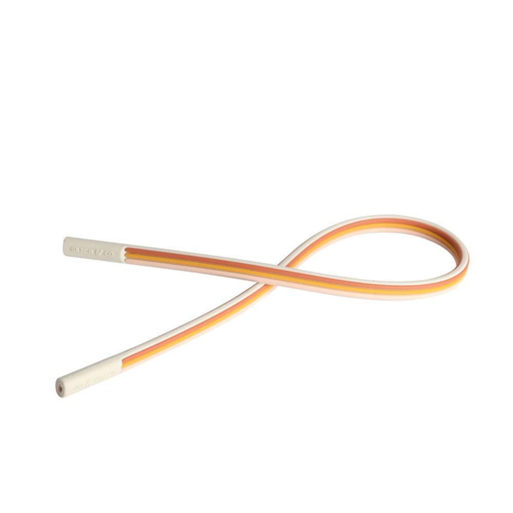 丹麥GRECH&CO - 矽膠眼鏡防落繩-D款 (粉/黃/紅)-1入
