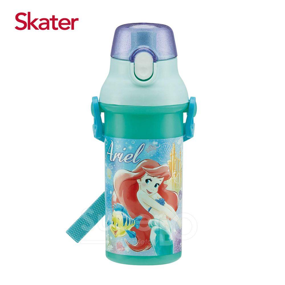 日本 SKATER - 兒童直飲冷水壺 (480ml)-小美人魚愛麗兒