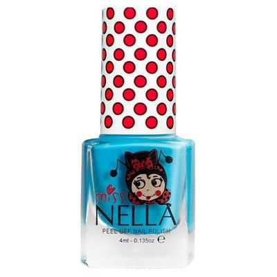 Miss NELLA 兒童水性可撕式安全指甲油-美人魚藍MN01-4ml