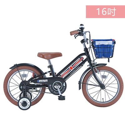 兒童腳踏車16吋-(適用身高100cm以上)-黑